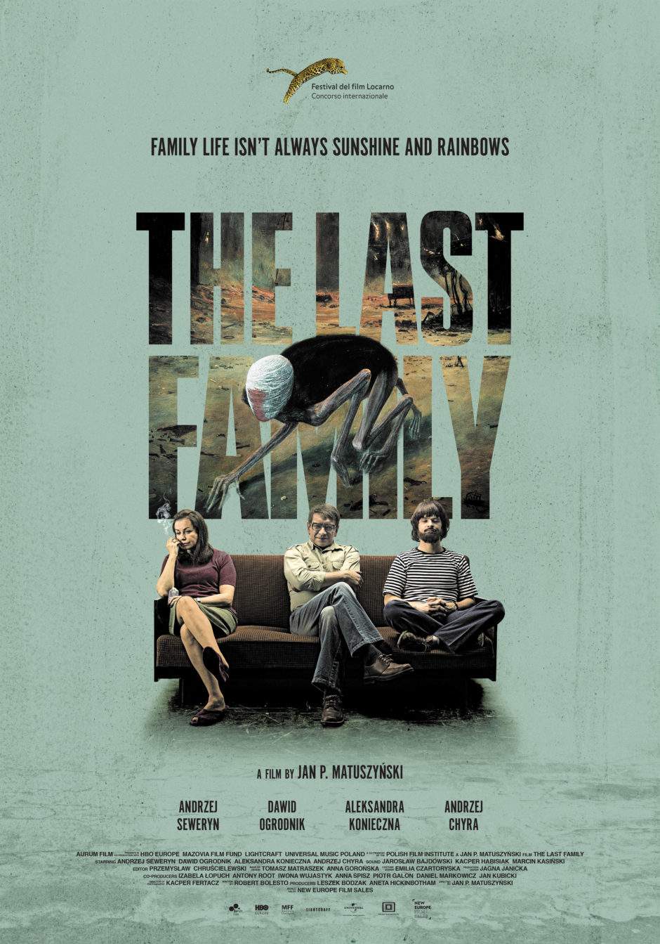 Official Poster - The Last Family